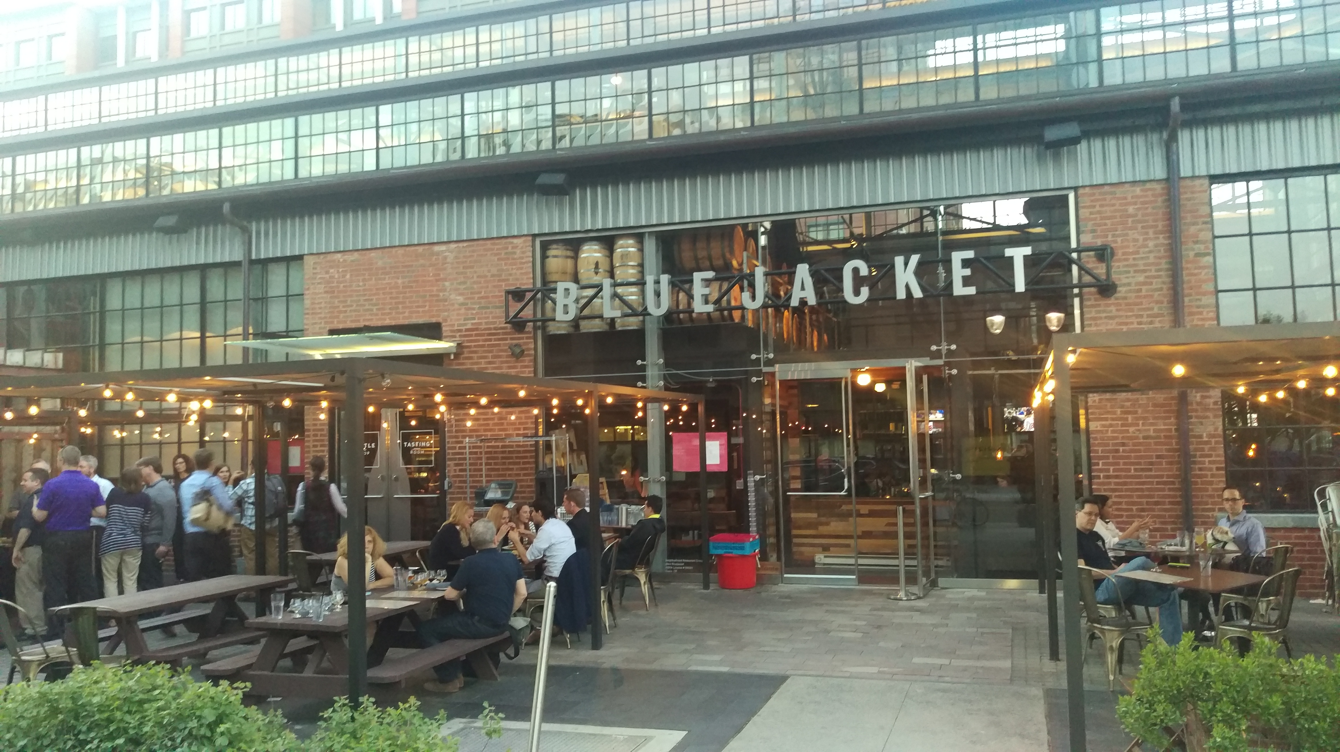 Friday Night Beers & Bites Tour at Bluejacket Brewery | Restaurant ...