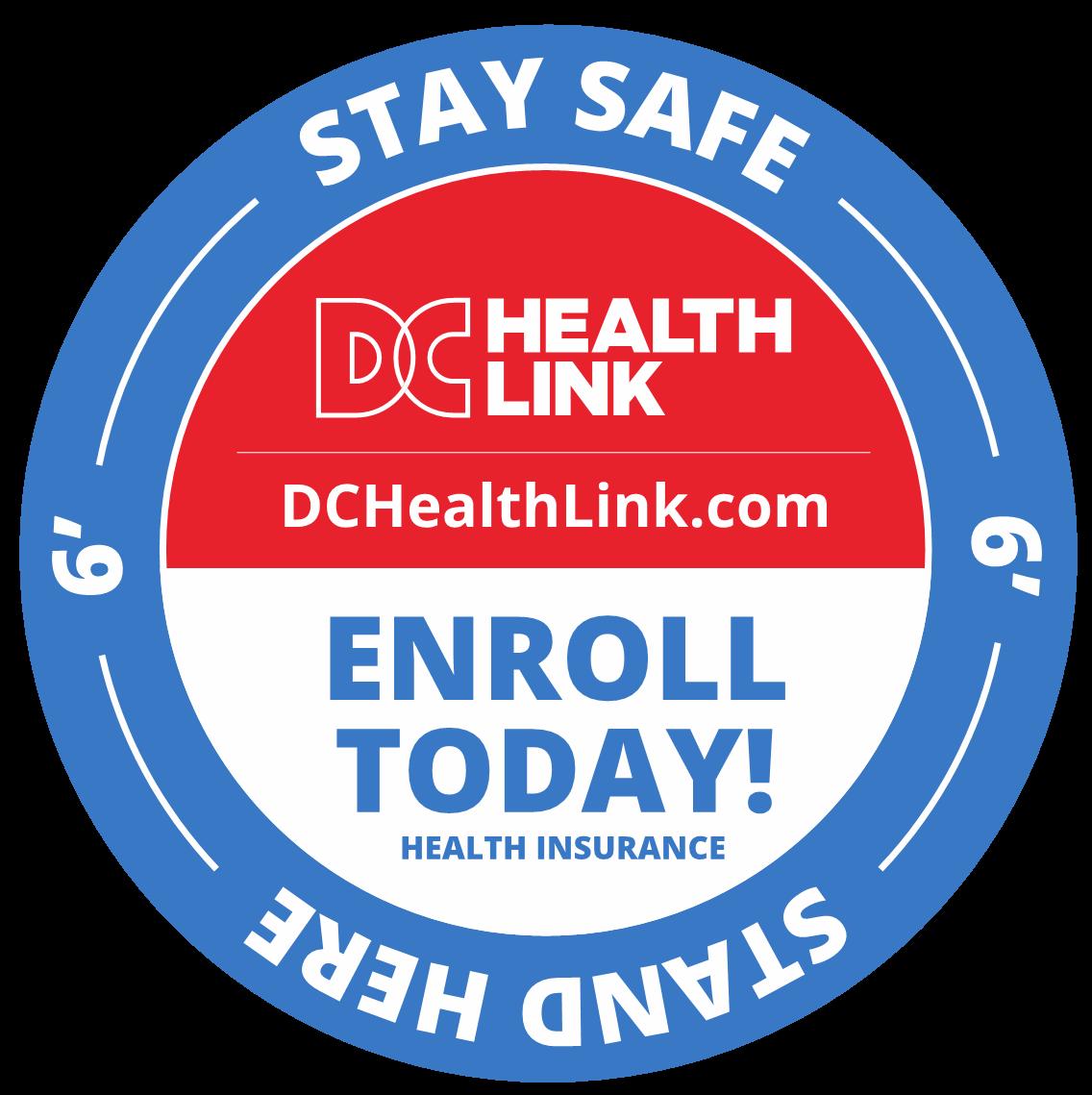 DC Health Link Offers Social Distancing Decals ...
